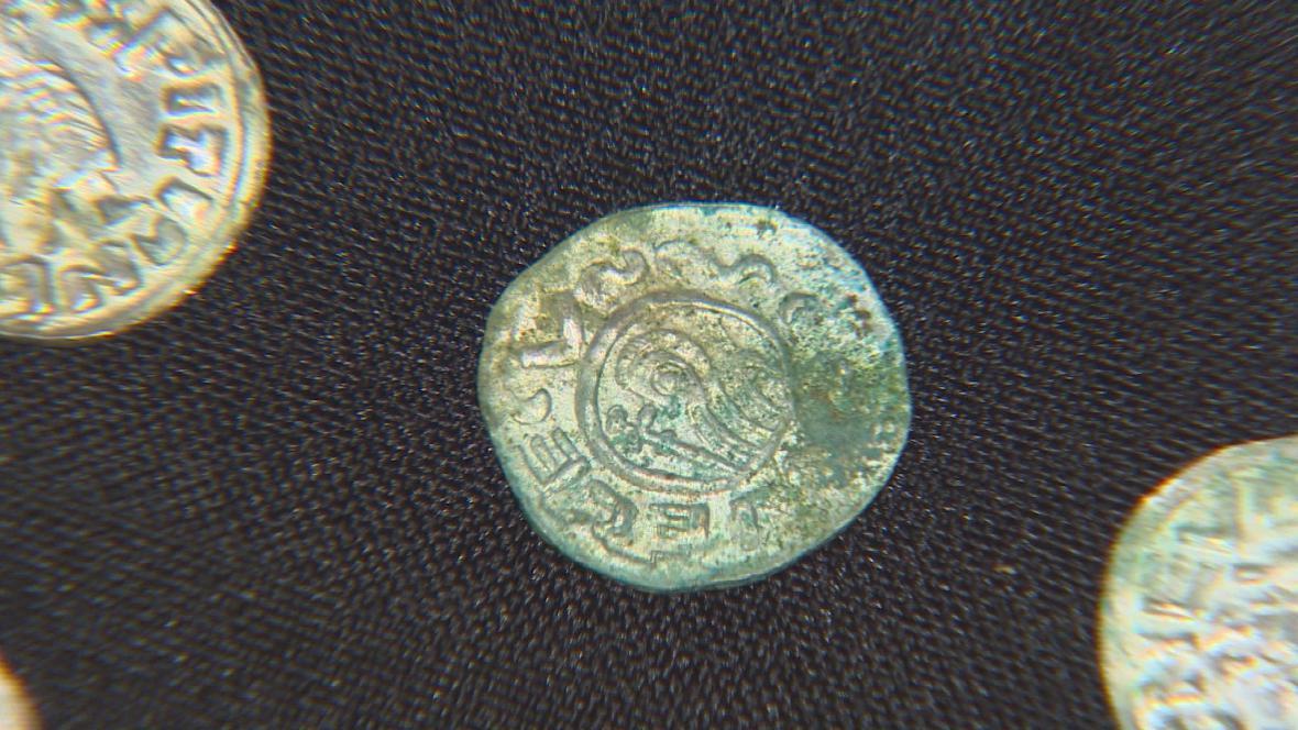 Mince nalezené u Řetče