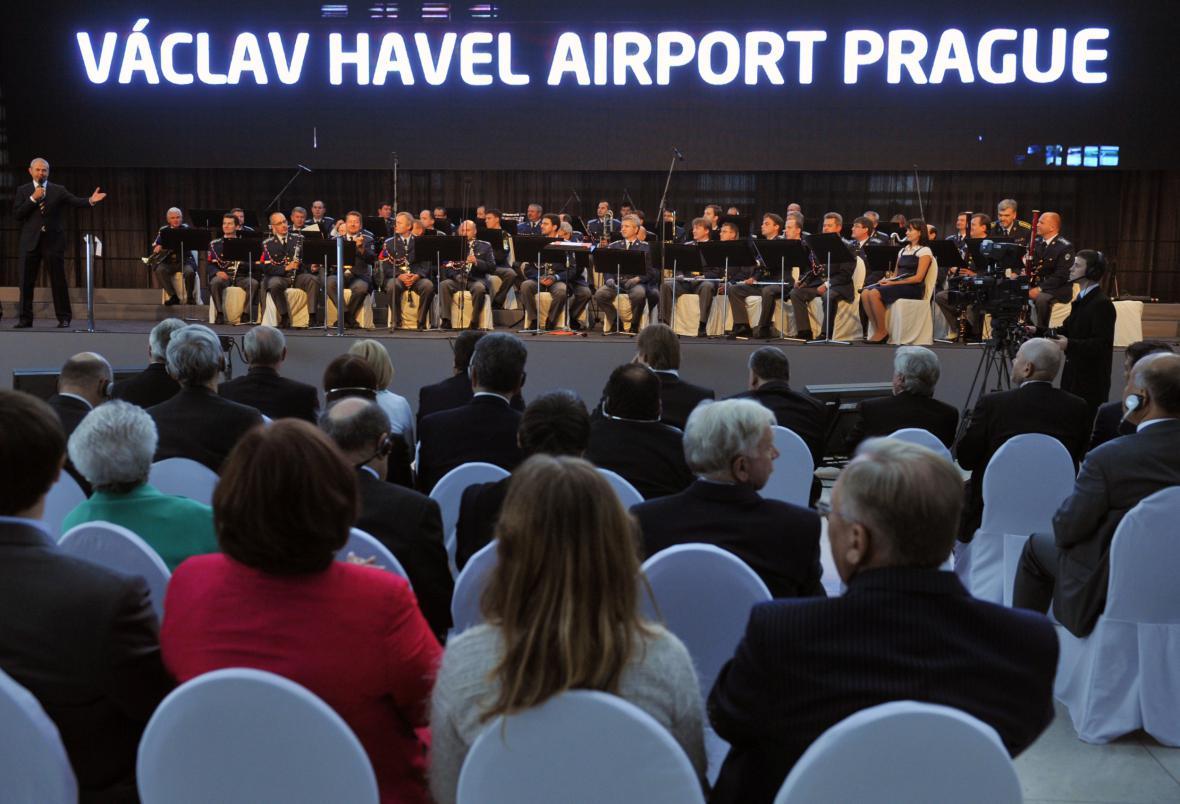 Přejmenování ruzyňského letiště na Letiště Václava Havla Praha