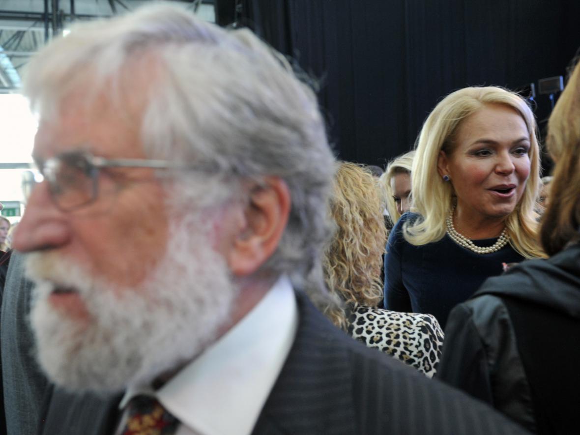 Dagmar Havlová a Ivan Havel