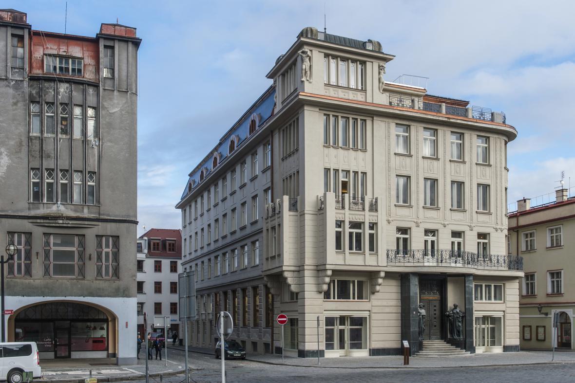 Rekonstrukce Galerie moderního umění v Hradci Králové