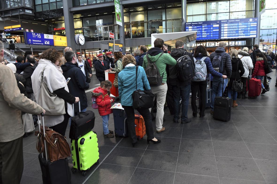 Řada německých tratí je dál mimo provoz