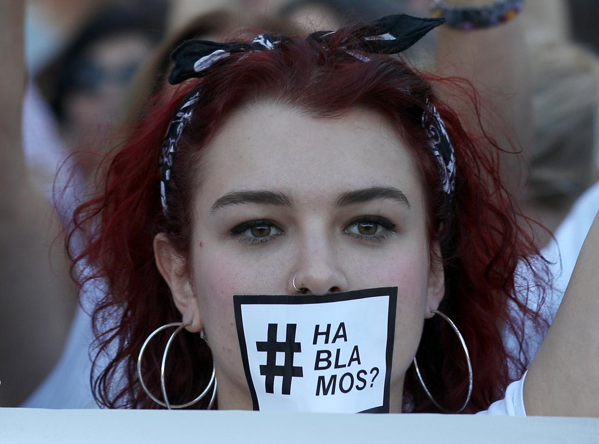 Demonstrace za dialog Katalánska s Madridem