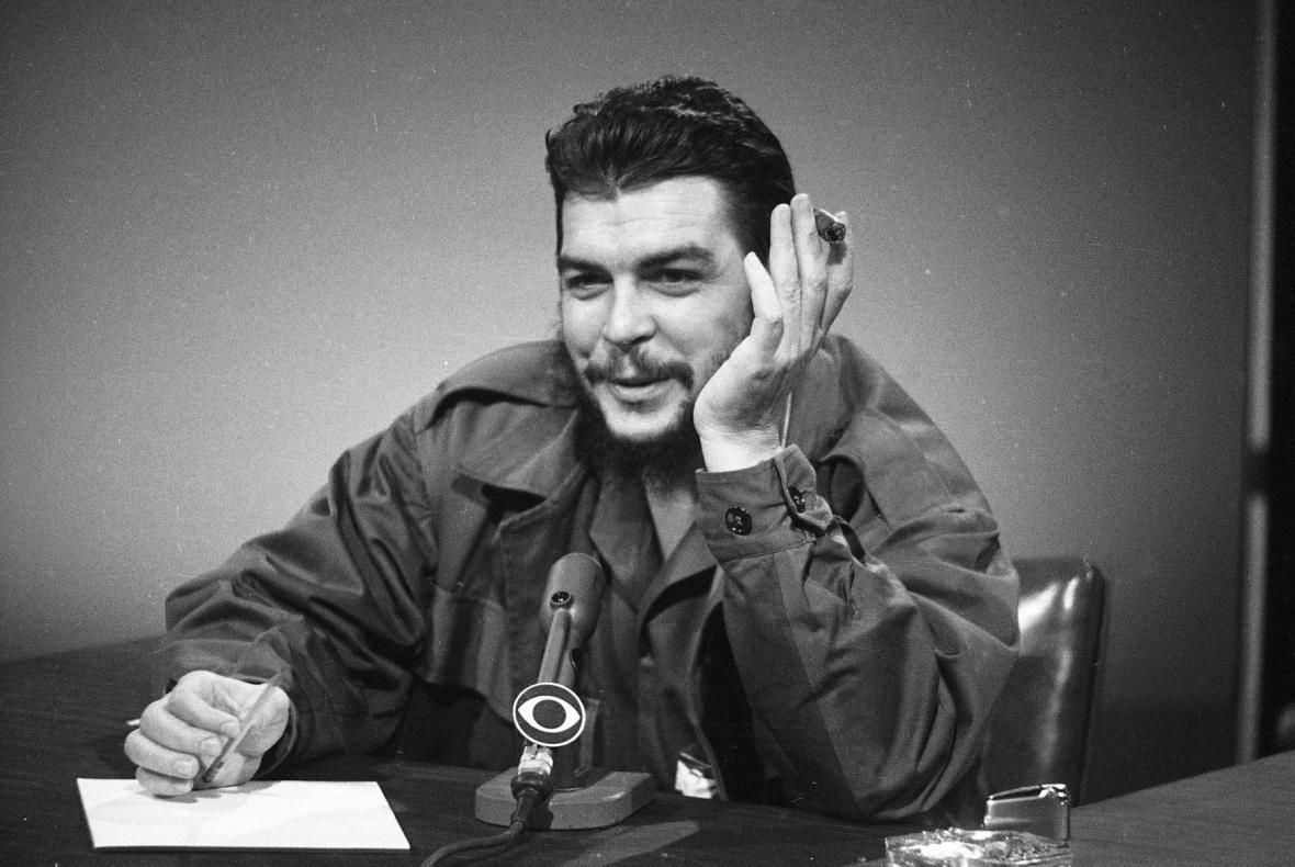 Ernesto Che Guevara hostem televize CBS, 1964