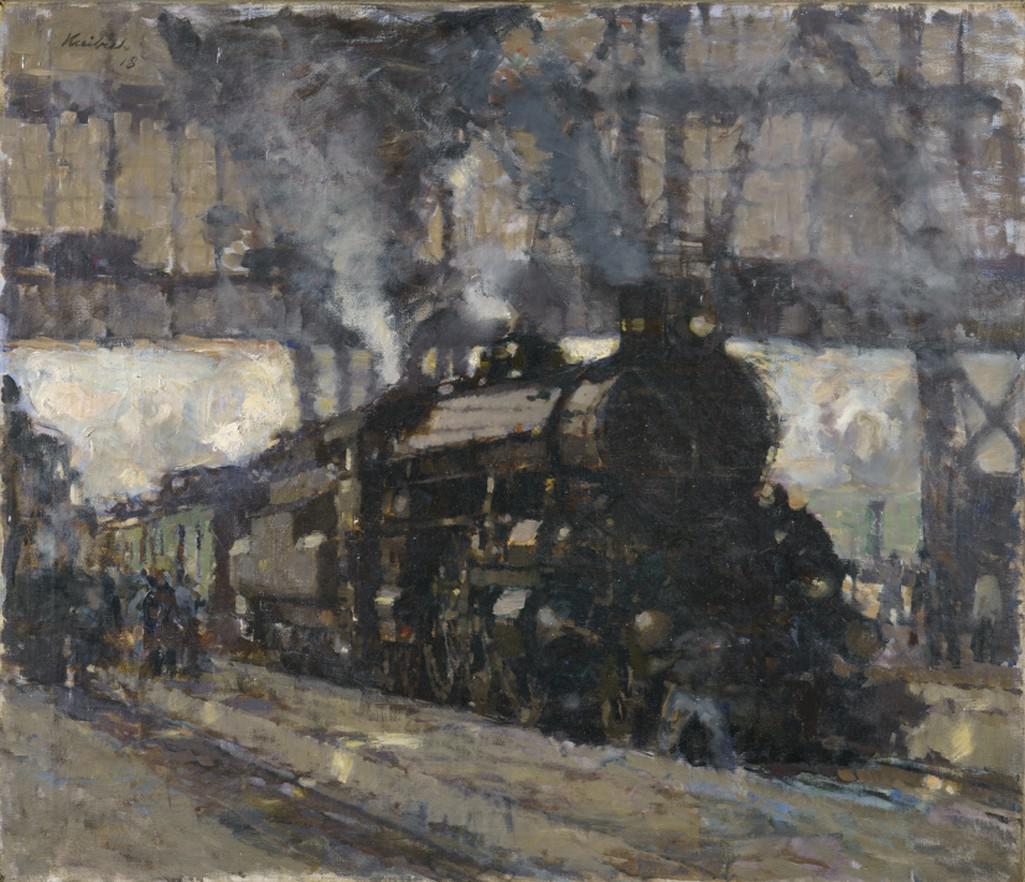 Z výstavy Světlo v obraze: český impresionismus