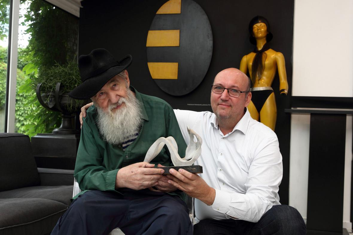 Milan Beránek s Tomášem Hejtmánkem