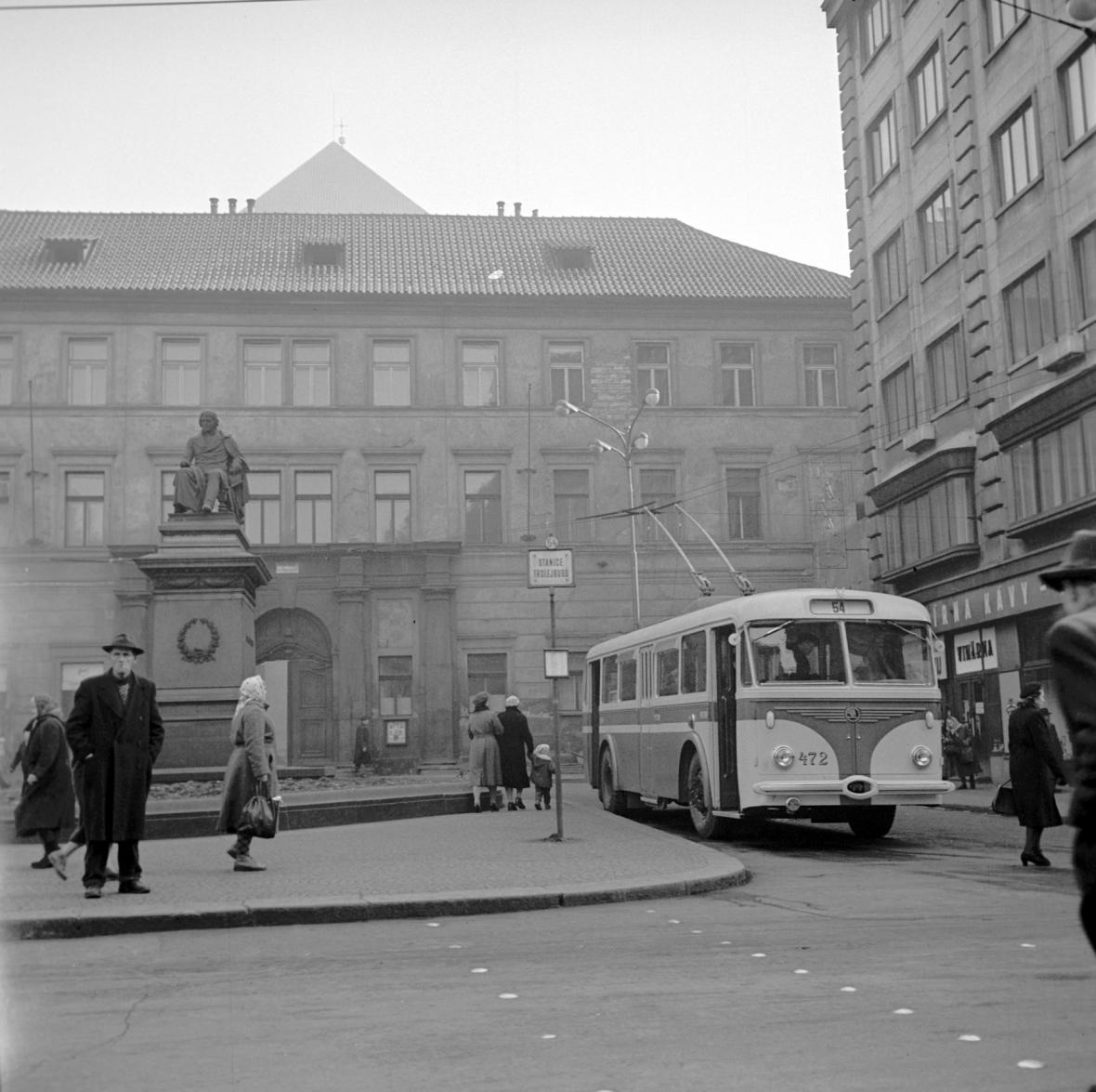 Pražský trolejbus