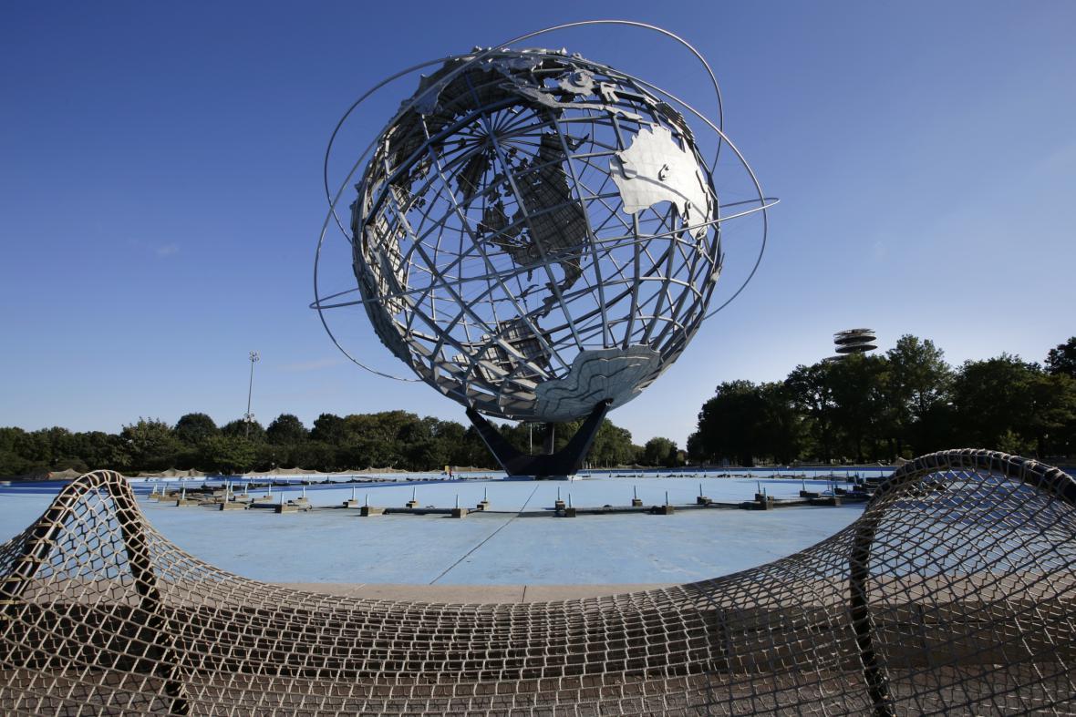 Instalace Aj Wej-weje v New Yorku