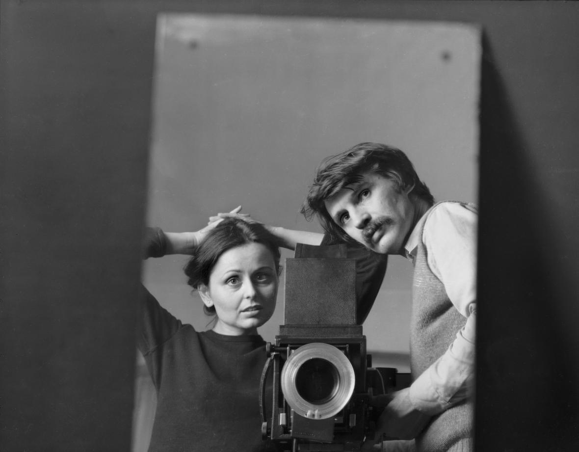 Pavel Baňka / Jindra a Pavel v zrcadle, 1981