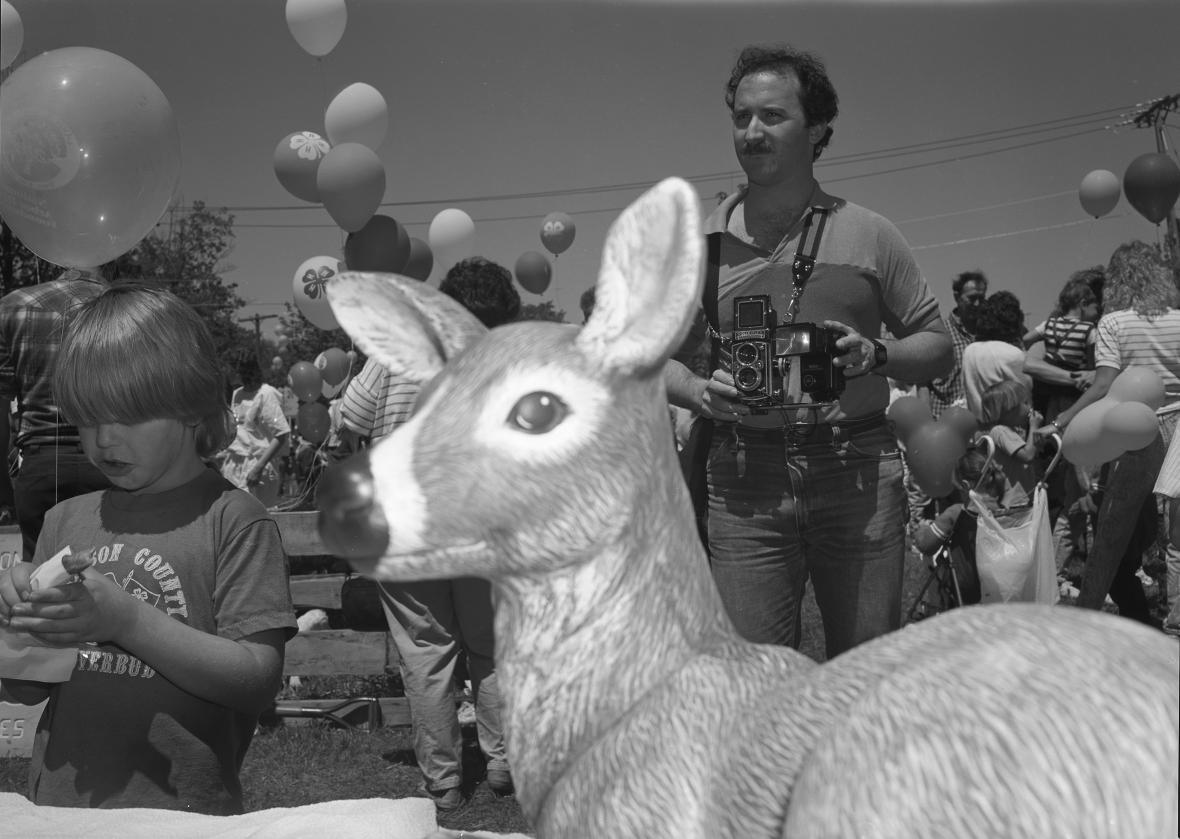 Pavel Baňka / Komunita v Syracuse, USA, 1988