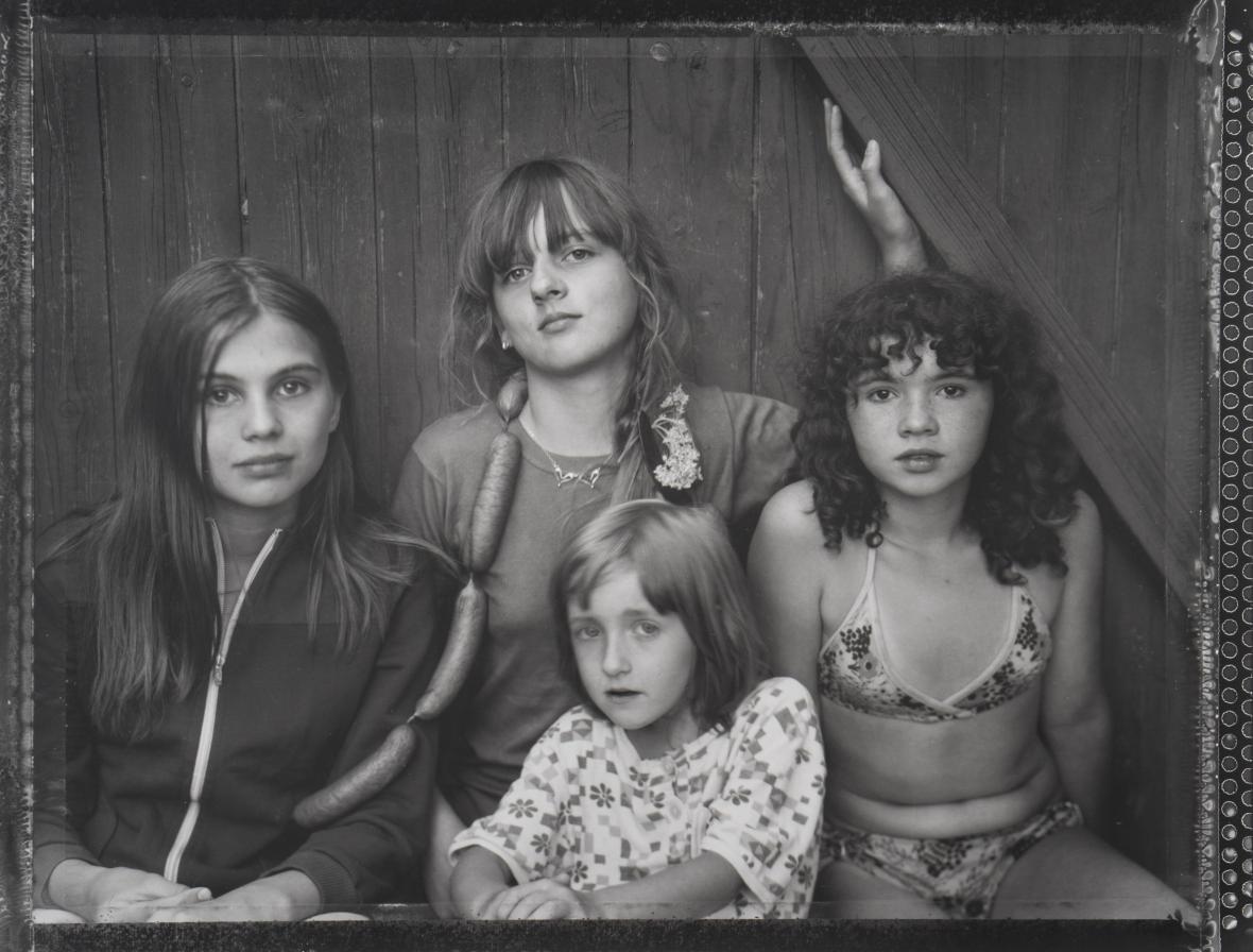 Pavel Baňka / Markéta a holky se špekáčky, 1983