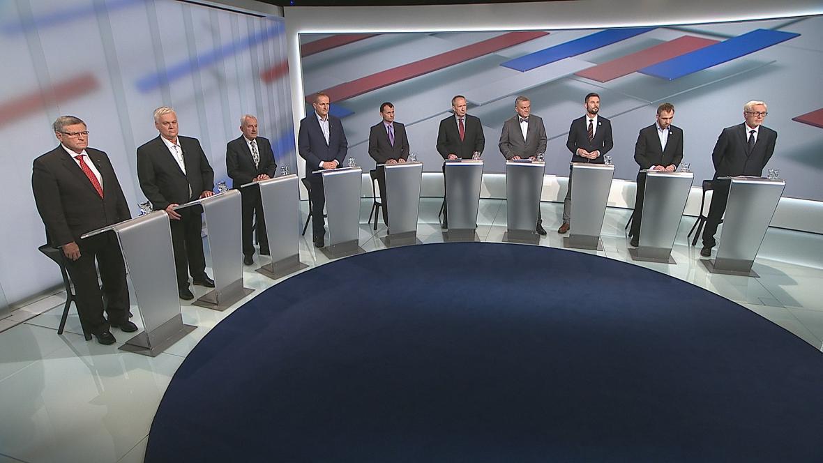 Předvolební debata ČT24 - téma zdravotnictví
