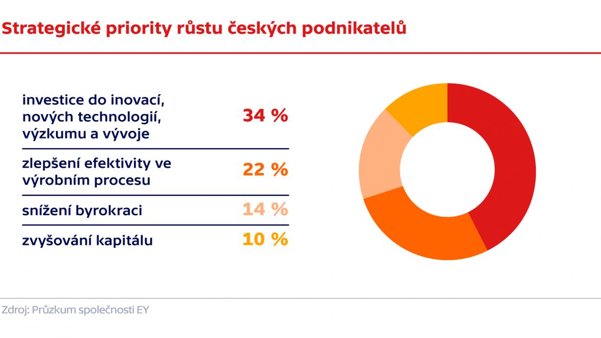 Strategické priority růstu českých podnikatelů