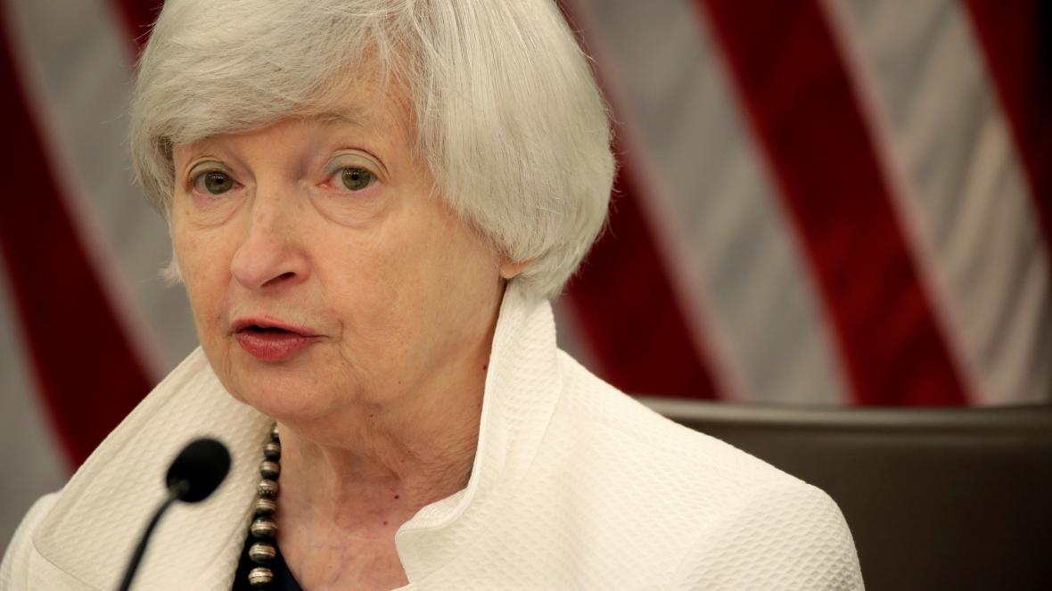 Současná šéfka Fedu Janet Yellenová