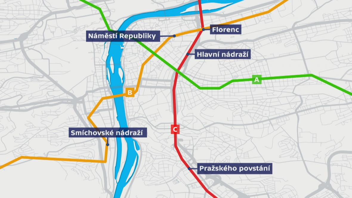 Mapa stanic s wi-fi