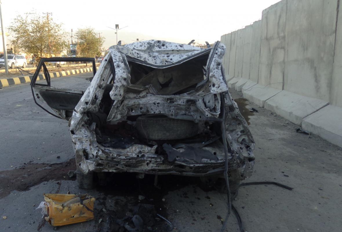 Útok v afghánském Gardezu