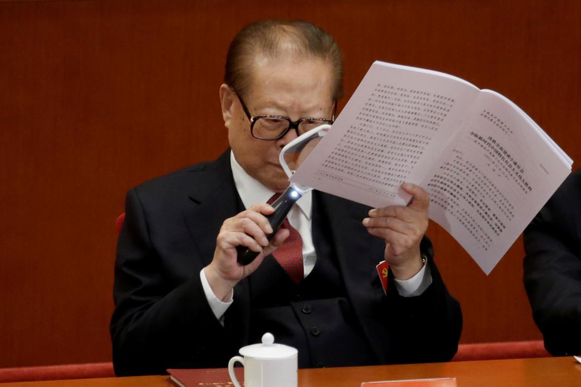 Bývalý čínský prezident Ťiang Ce-min