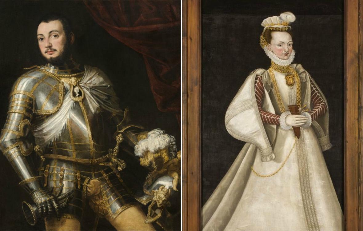 Z výstavy Portréty renesanční šlechty