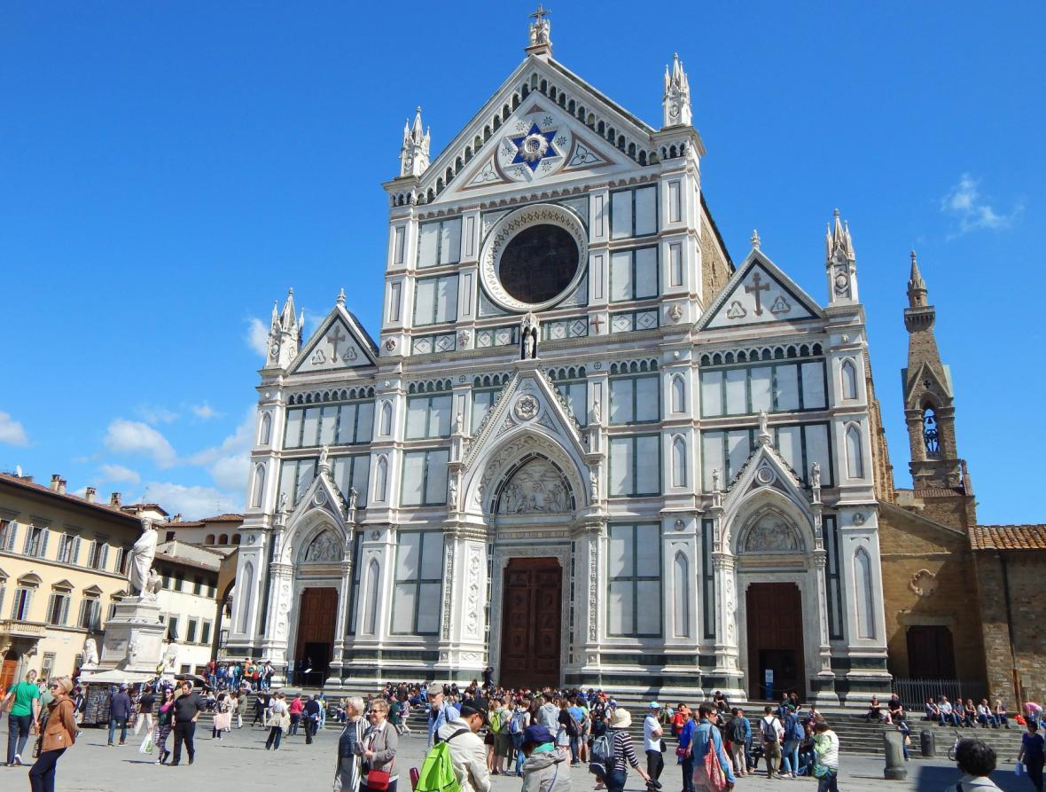 Bazilika svatého Kříže ve Florencii