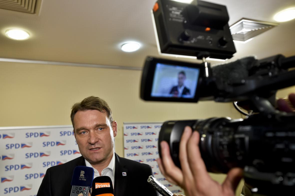 Volební štáb SPD