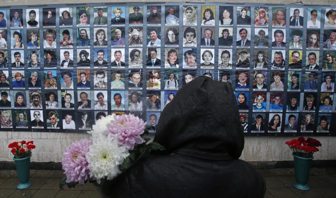 Vzpomínání na oběti