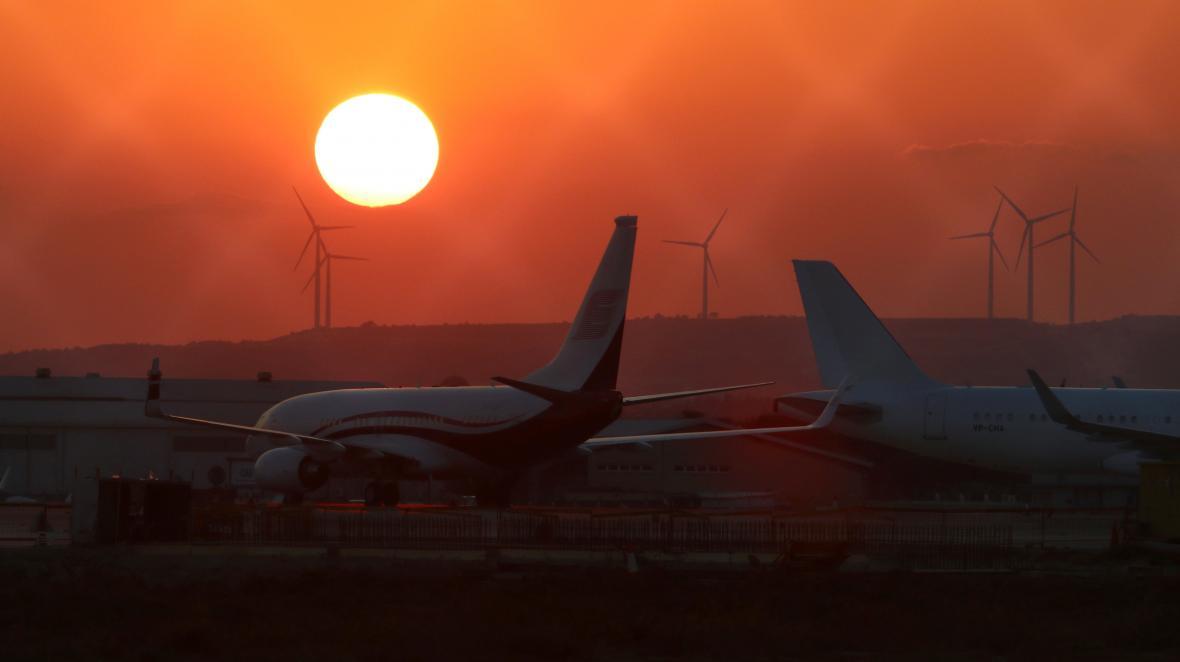 Mezinárodní letiště na Kypru