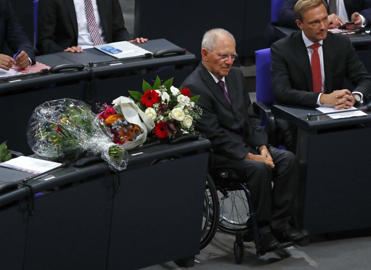 Wolfgang Schäuble je novým předsedou Spolkového sněmu