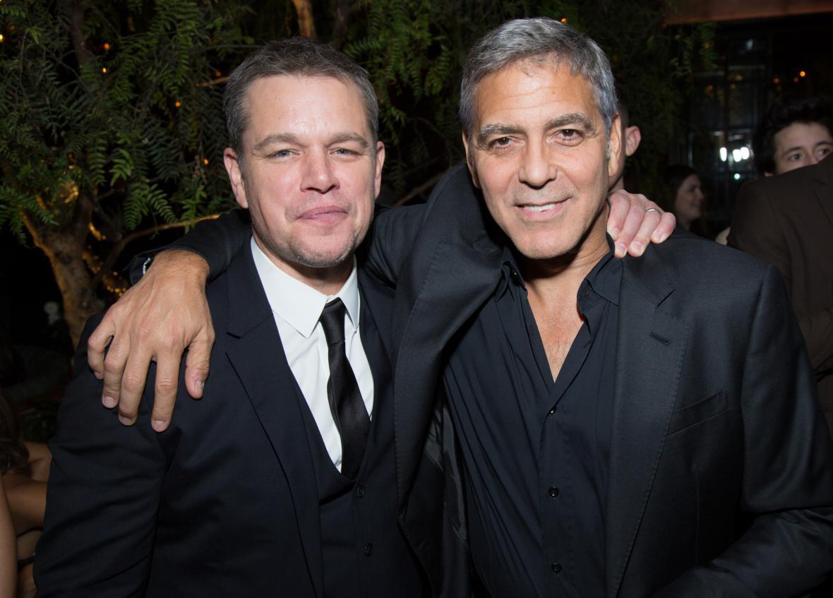 Matta Damona a George Clooneyho nenechala Weinsteinova aféra klidnými