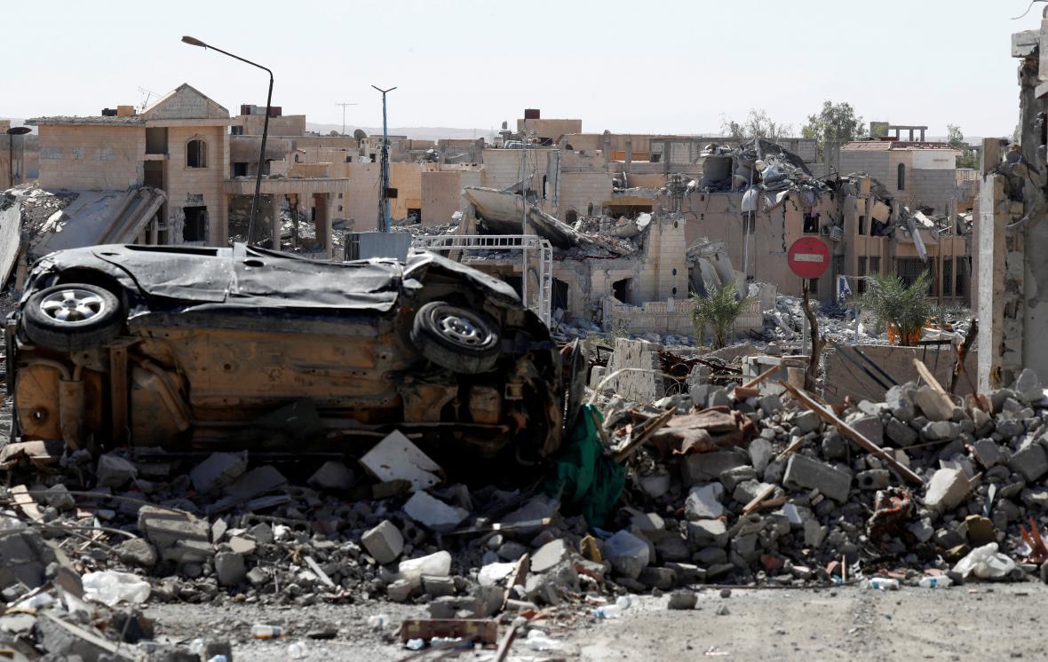 Rakká po porážce IS