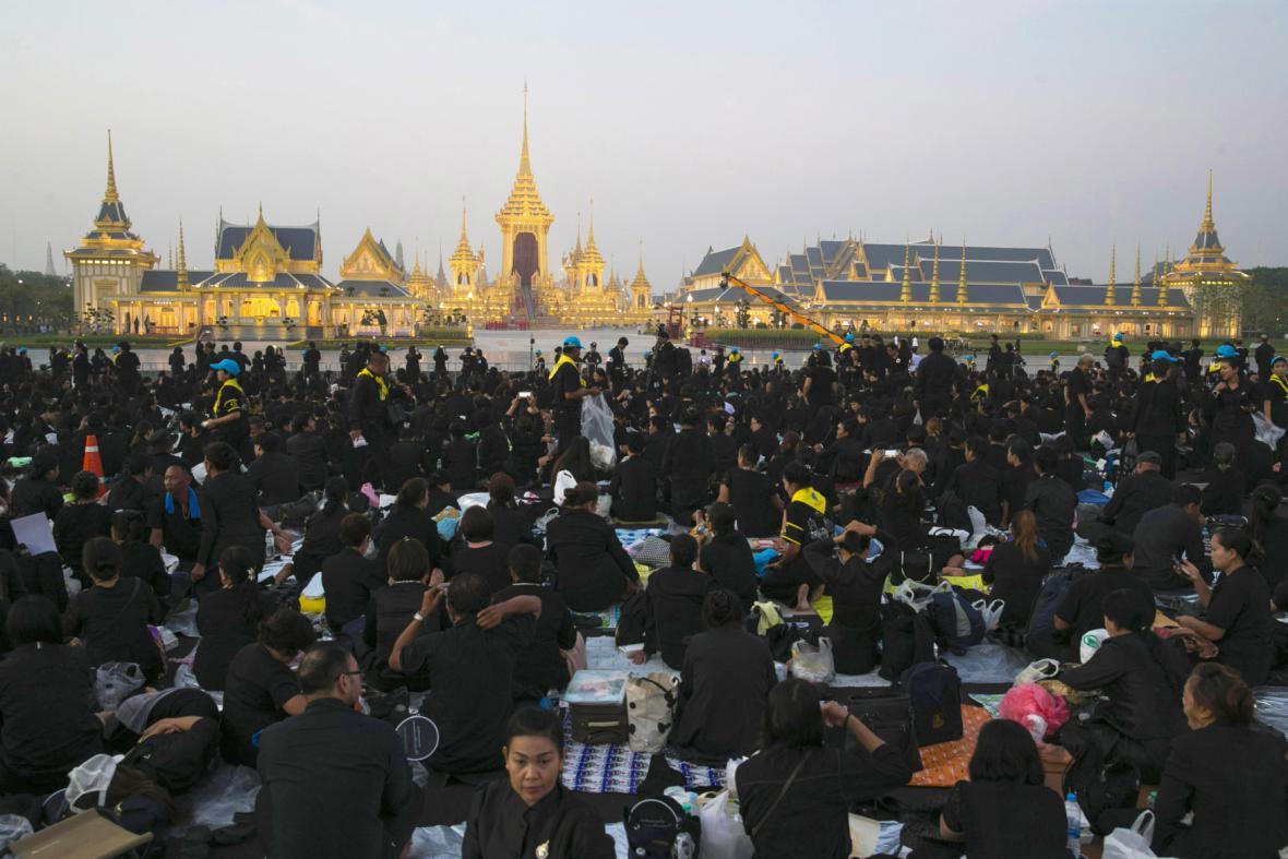 Pohřeb thajského krále