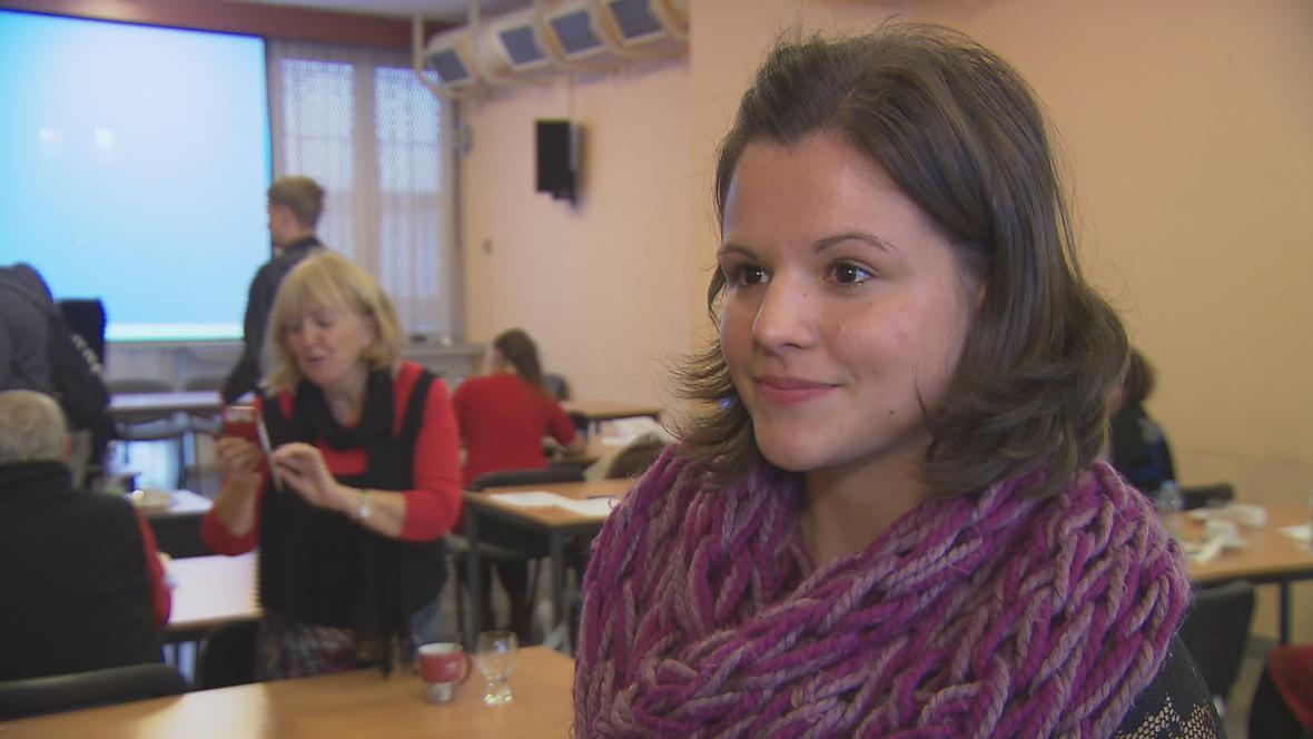 Dagmar Anna Adamovičová - pacientka operovaná gama nožem.