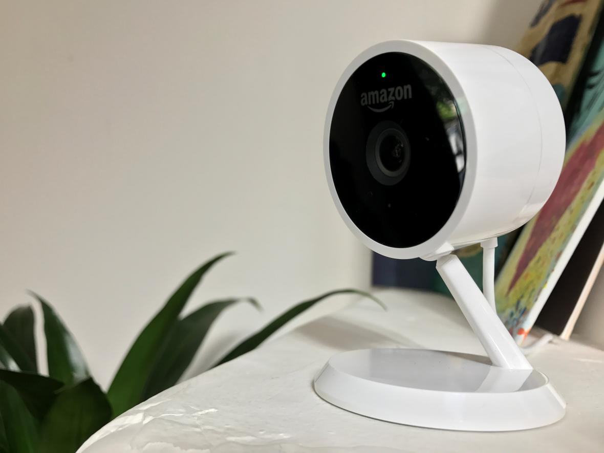 Cloudová kamera Amazonu.