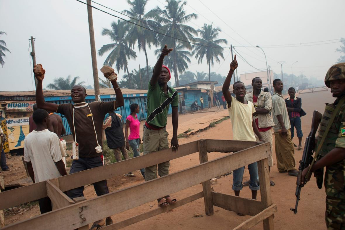 Nepokoje ve Středoafrické republice v roce 2013