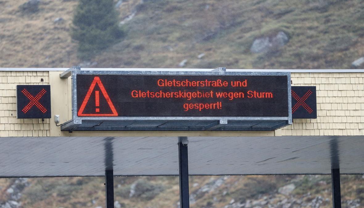 Kvůli větru byl zrušen i obří slalom v rakouském Söldenu