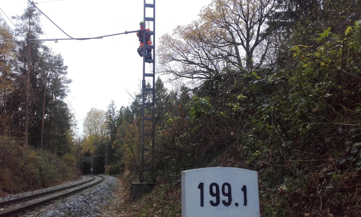 Oprava trati