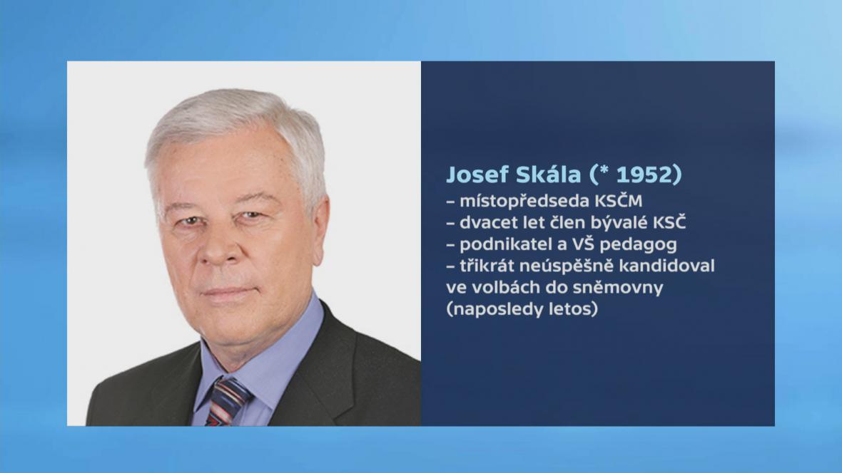 Josef Skála  vizitka