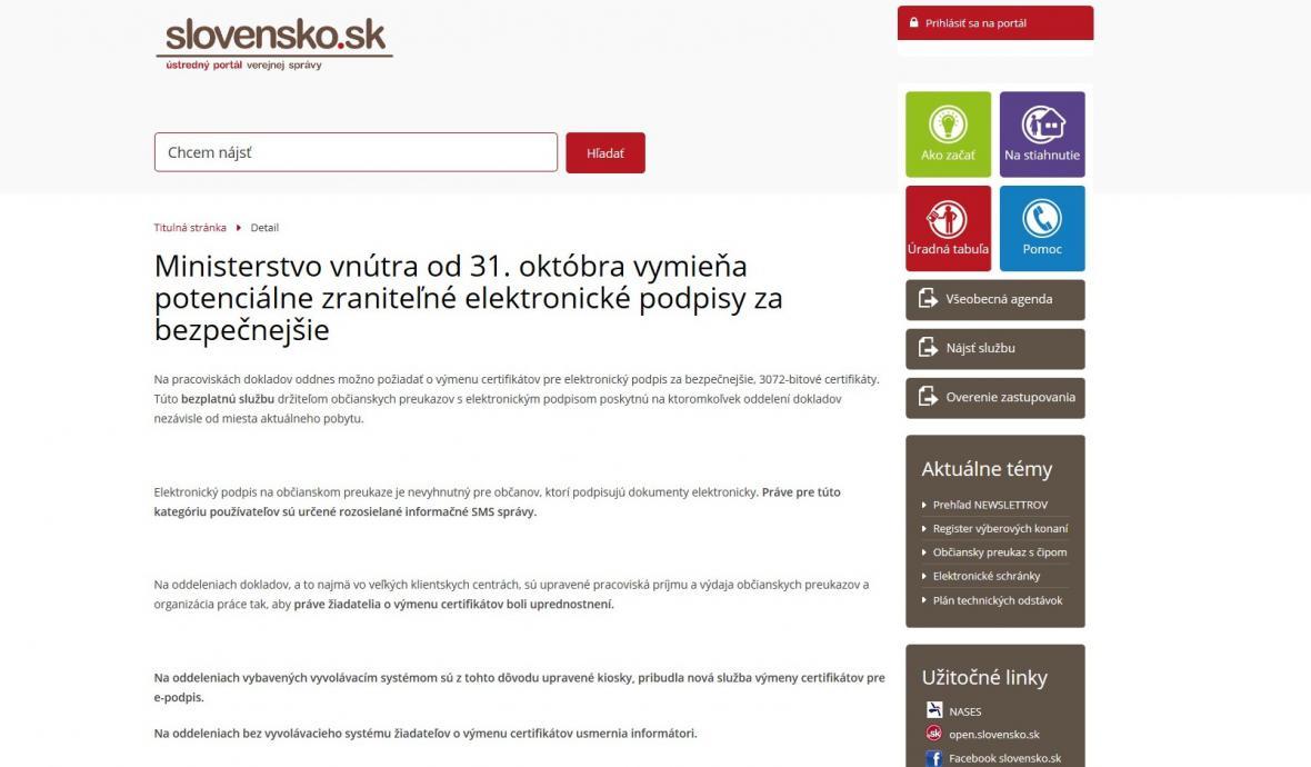 Server Slovensko.sk