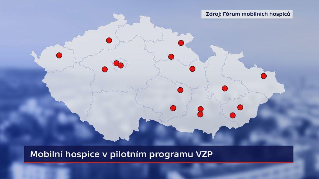 Mobilní hospice v pilotním programu VZP