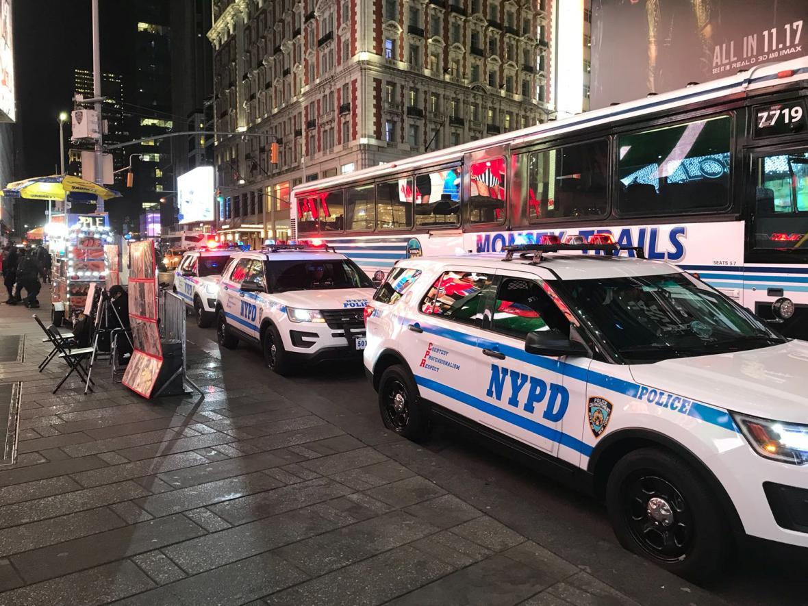 Policie po útoku v New Yorku