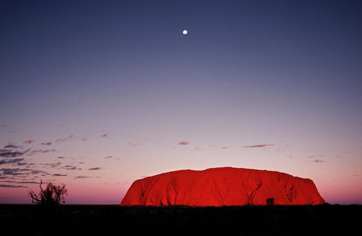 Australský masiv Uluru