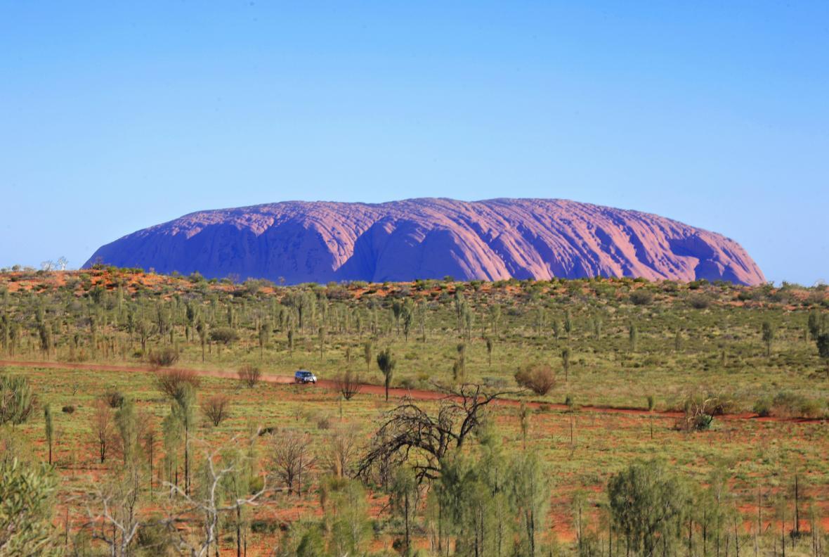 Ayersova skála má pro Aboridžince posvátný význam