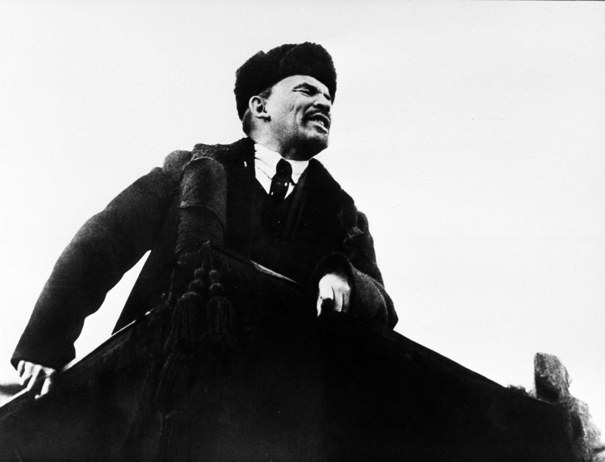 Vladimír Iljič Lenin v roce 1918