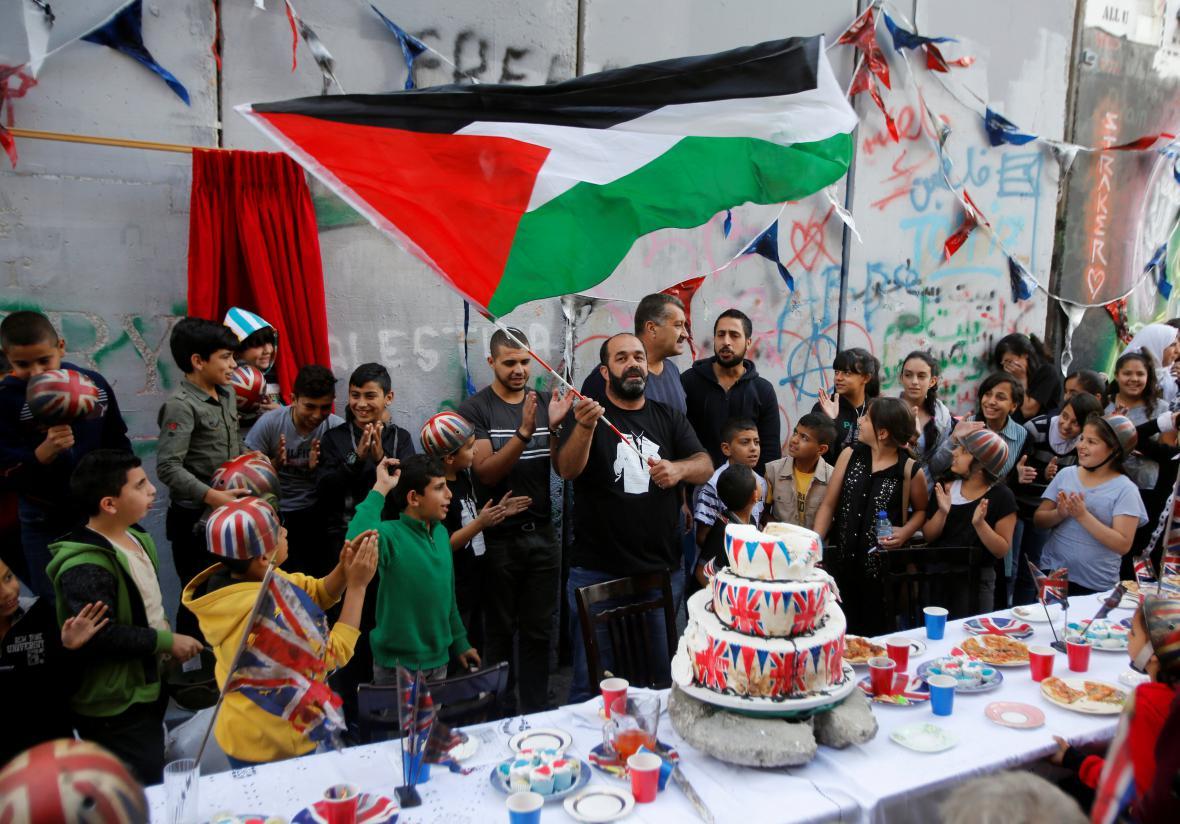 Banksyho akce na Západním břehu