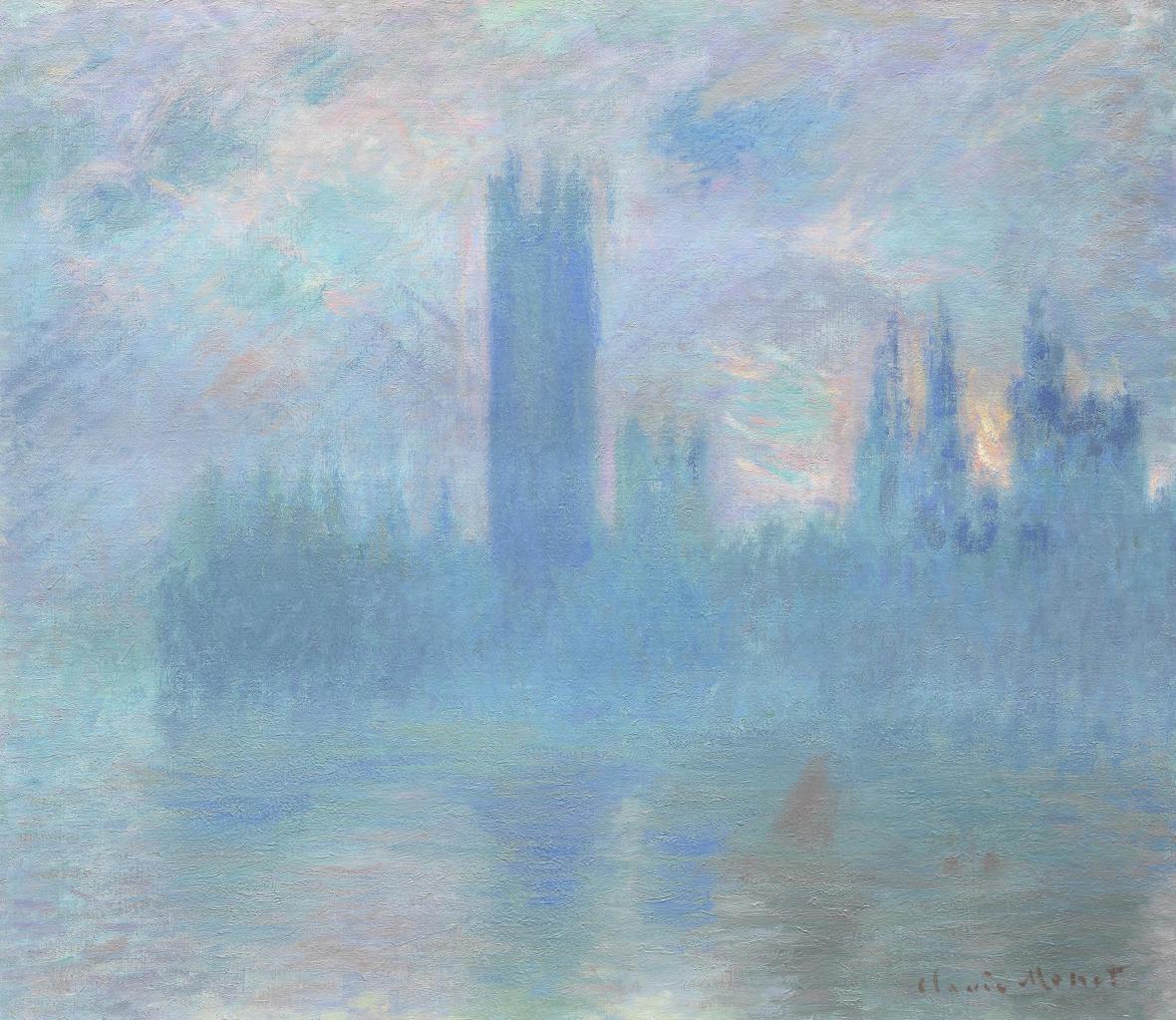 Claude Monet / Houses of Parliament, 1903