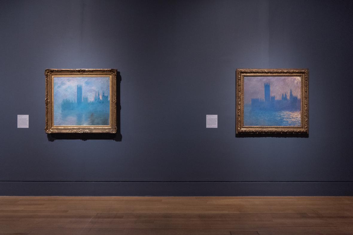Z výstavy Impresionismus v Londýně (Tate Britain)