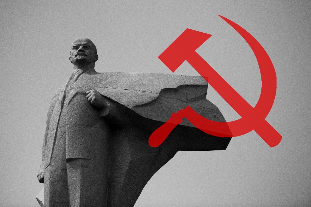 Socha Vladimíra Iljiče Lenina
