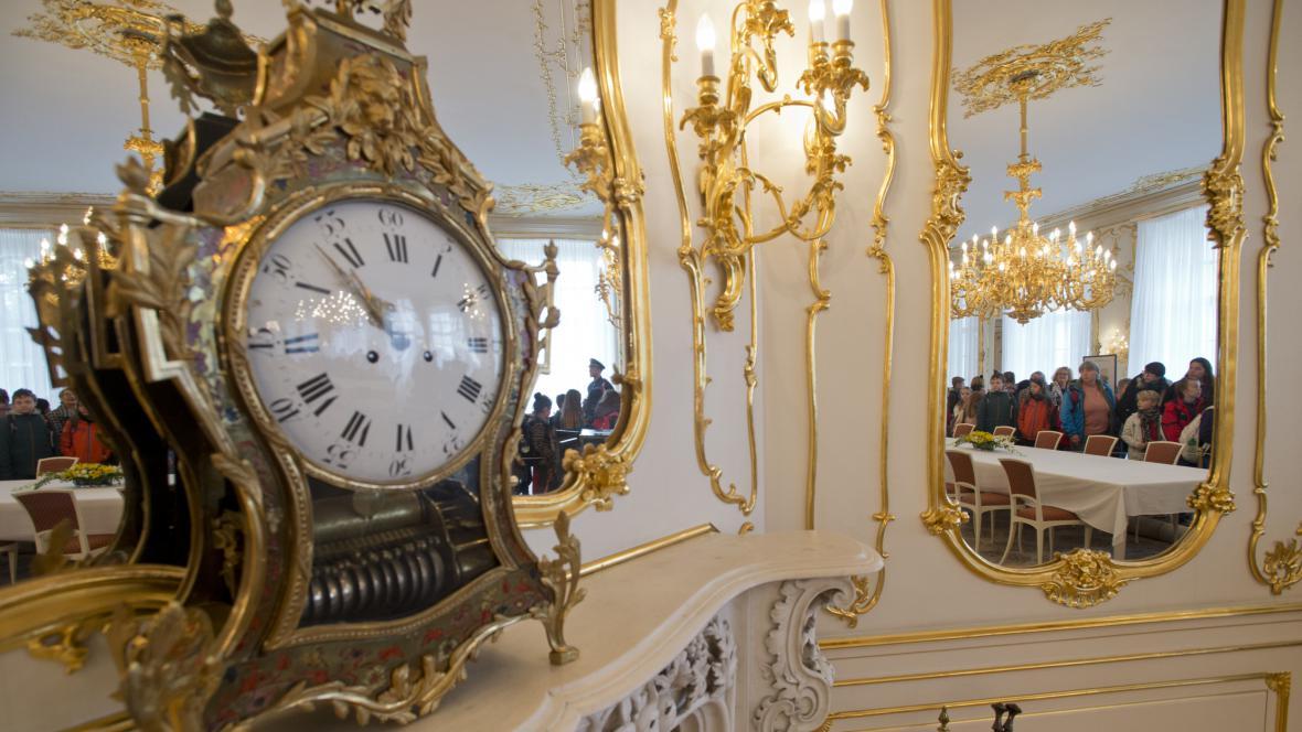 Den otevřených dveří v reprezentačních prostorách Pražského hradu