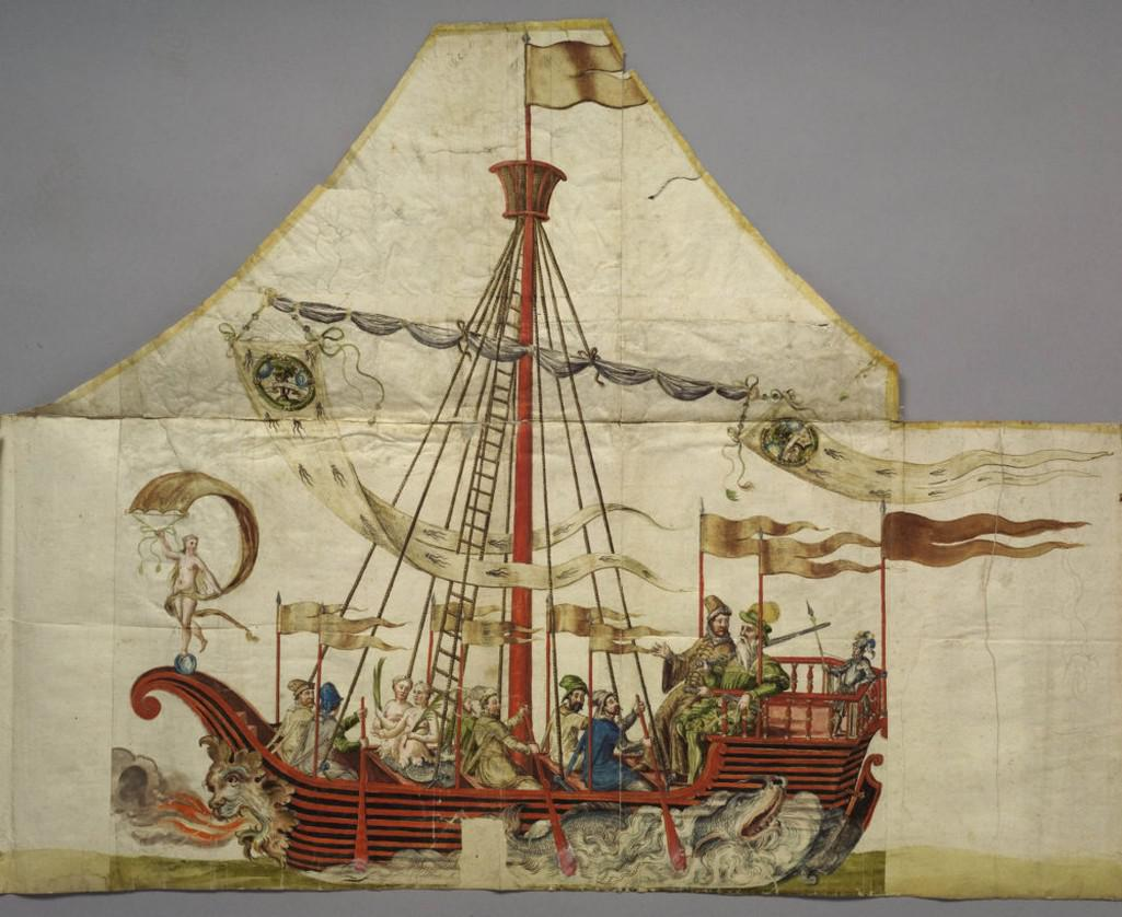 Z výstavy Ferdinand II. Habsburský, renesanční vladař a mecenáš