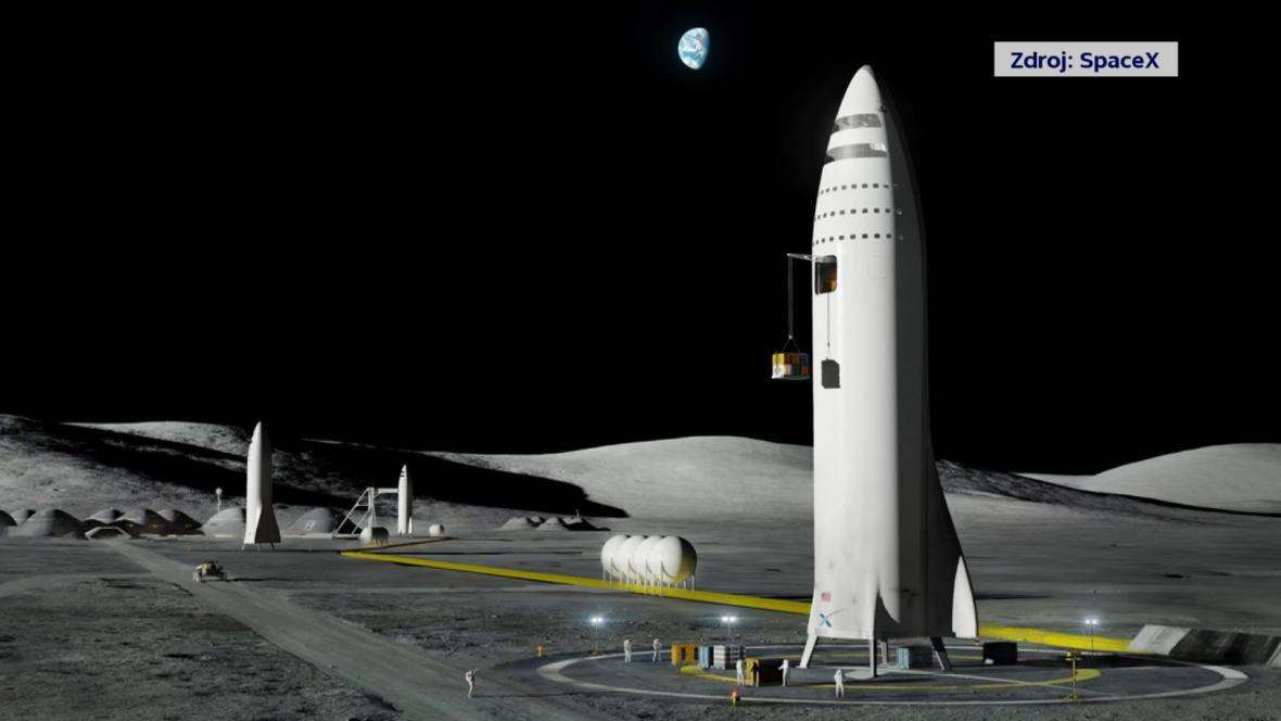 Firma SpaceX už ukazuje i obrázky základny na Marsu.