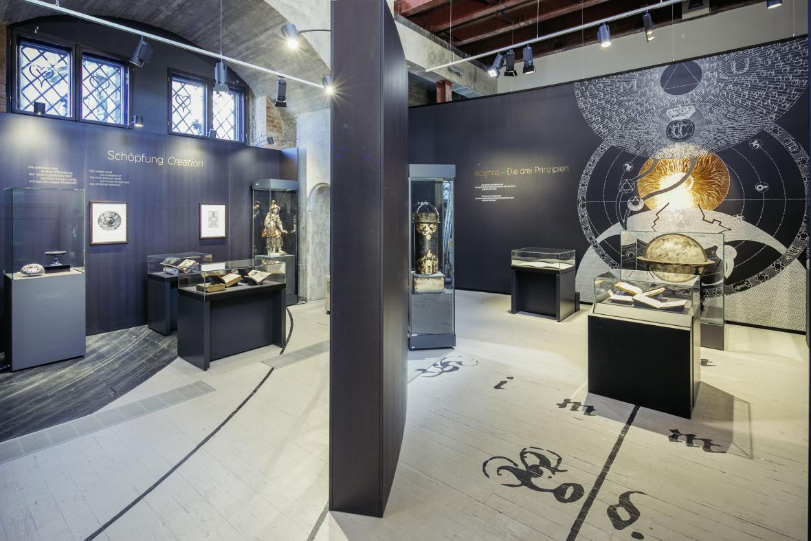Výstava Jacob Böhme: Vše ve všem (Státní umělecké sbírky Drážďany)