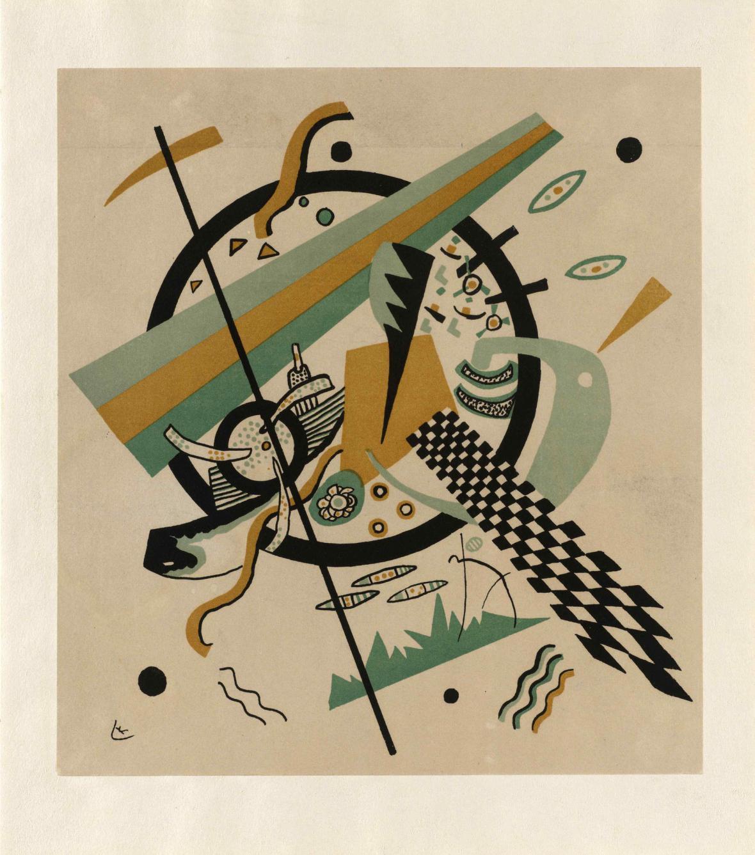 Vasilij Kandinskij Malé světy IV, 1922
